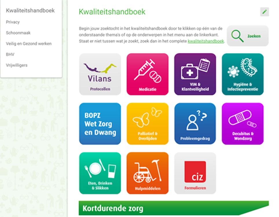 Kwaliteitshandboek Groenhuysen