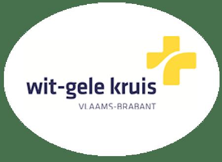 Quote wit gele kruis Vlaams brabant